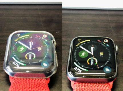 [Apple Watch]不注意で思いっ切りApple Watch Series 4 をぶつけたけど これのおかげで無傷だったよ