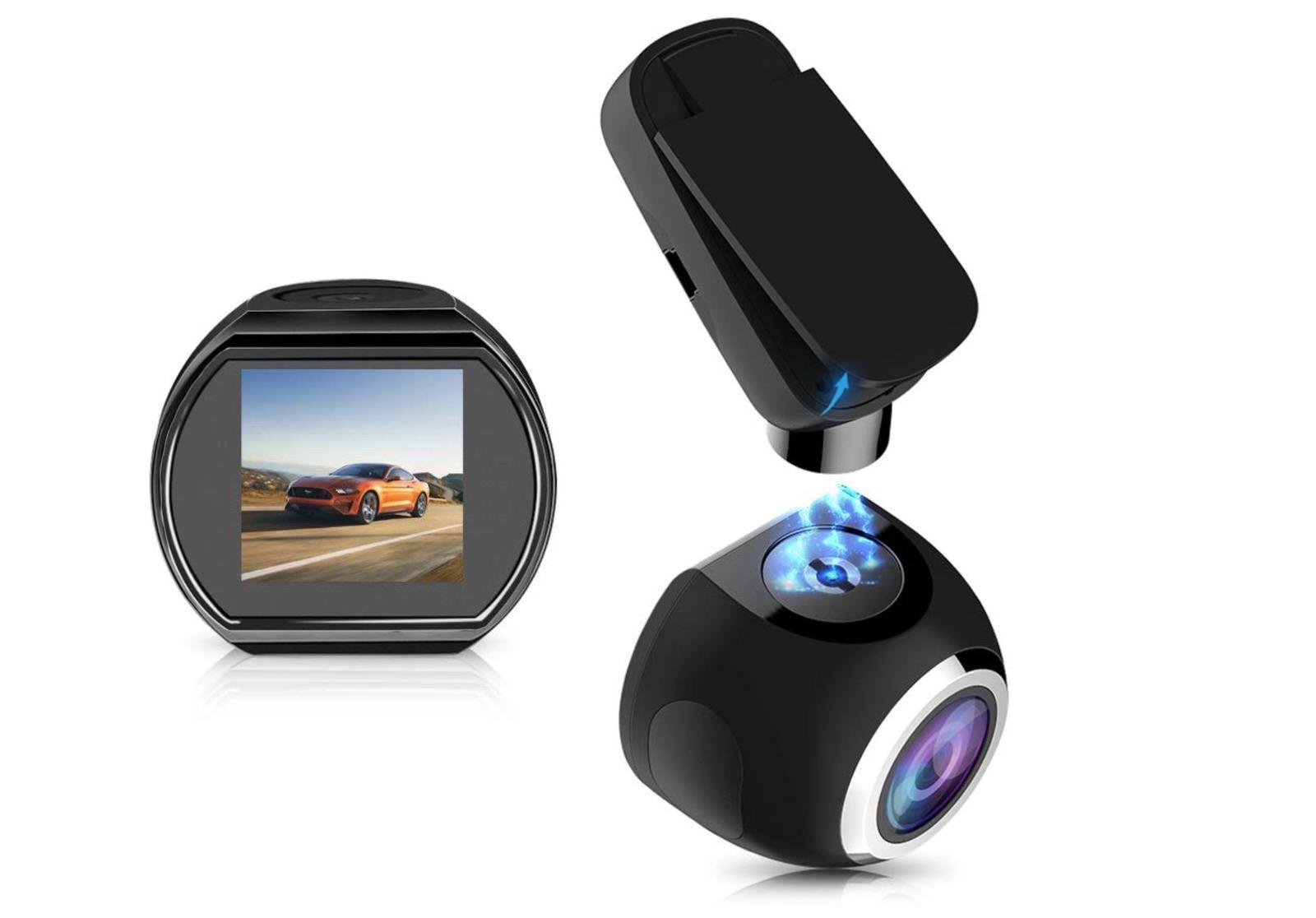 ドライブレコーダー WiFi【2018年最新版】HQBKiNG WiFi ドラレコ 1080PフルHD SONYセンサー搭載 高画質 ミニ 小型車載カメラ-1