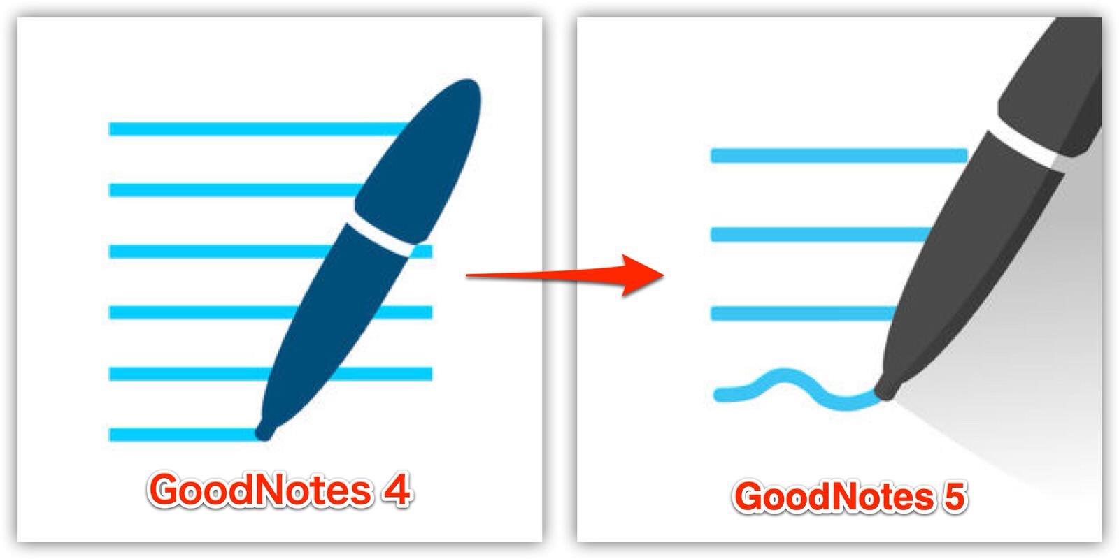 GoodNotes 4 - GoodNotes 5