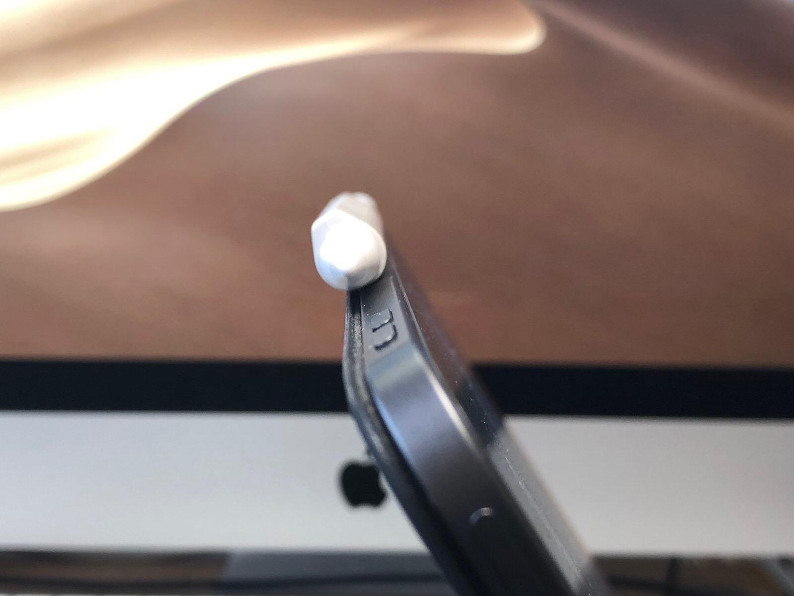 FRTMA Apple Pencil用グリップ(マグネット付き) 握りやすいiPad Pro用シリコン製Apple Pencil用グリップ−7