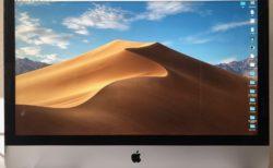 [iMac]ショック!惚れ惚れする5K Retina ディスプレイにライン抜けが。。。。。。。