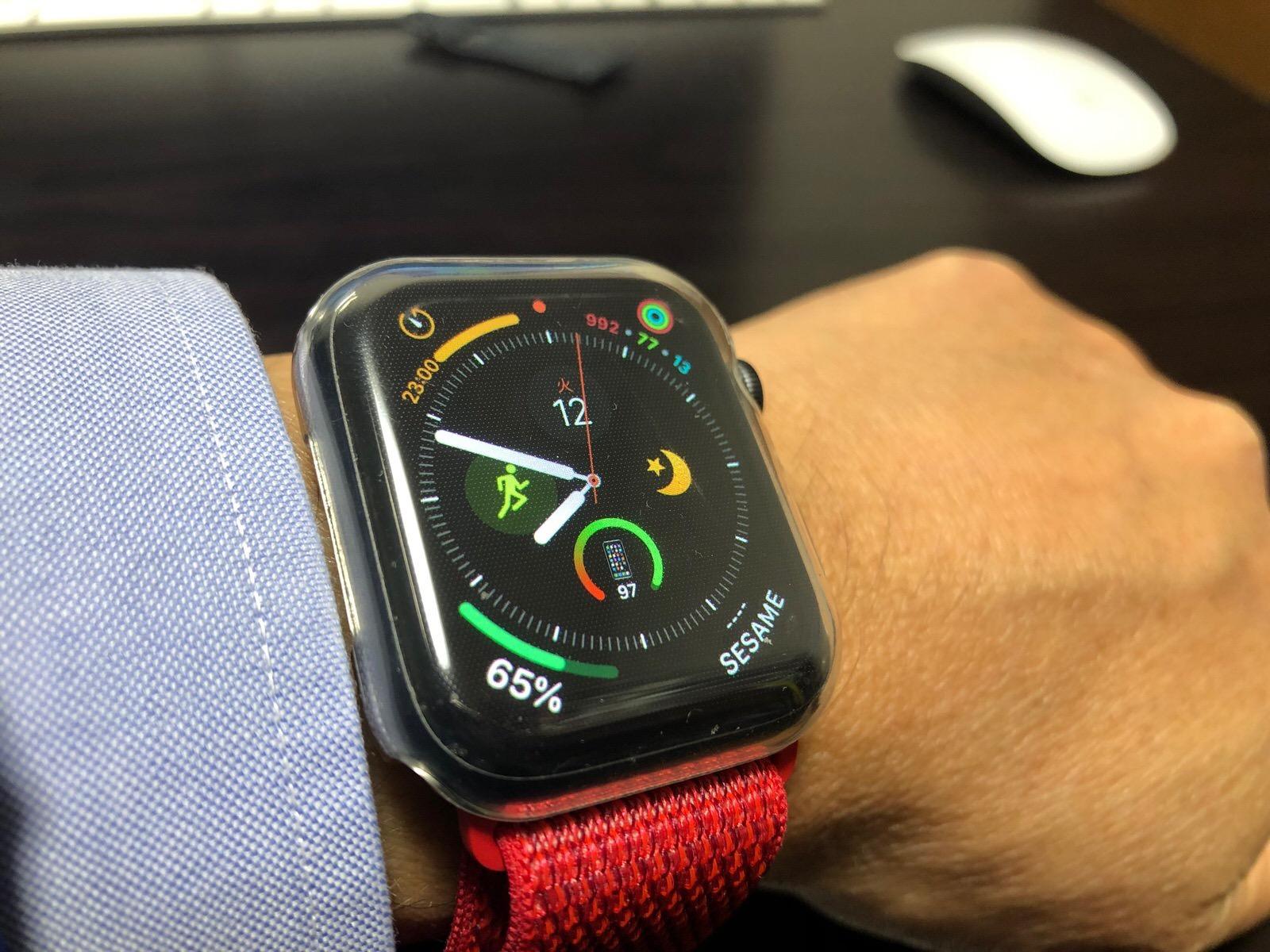 casualcatch Apple watch4 ケース 保護ケース カバー-9