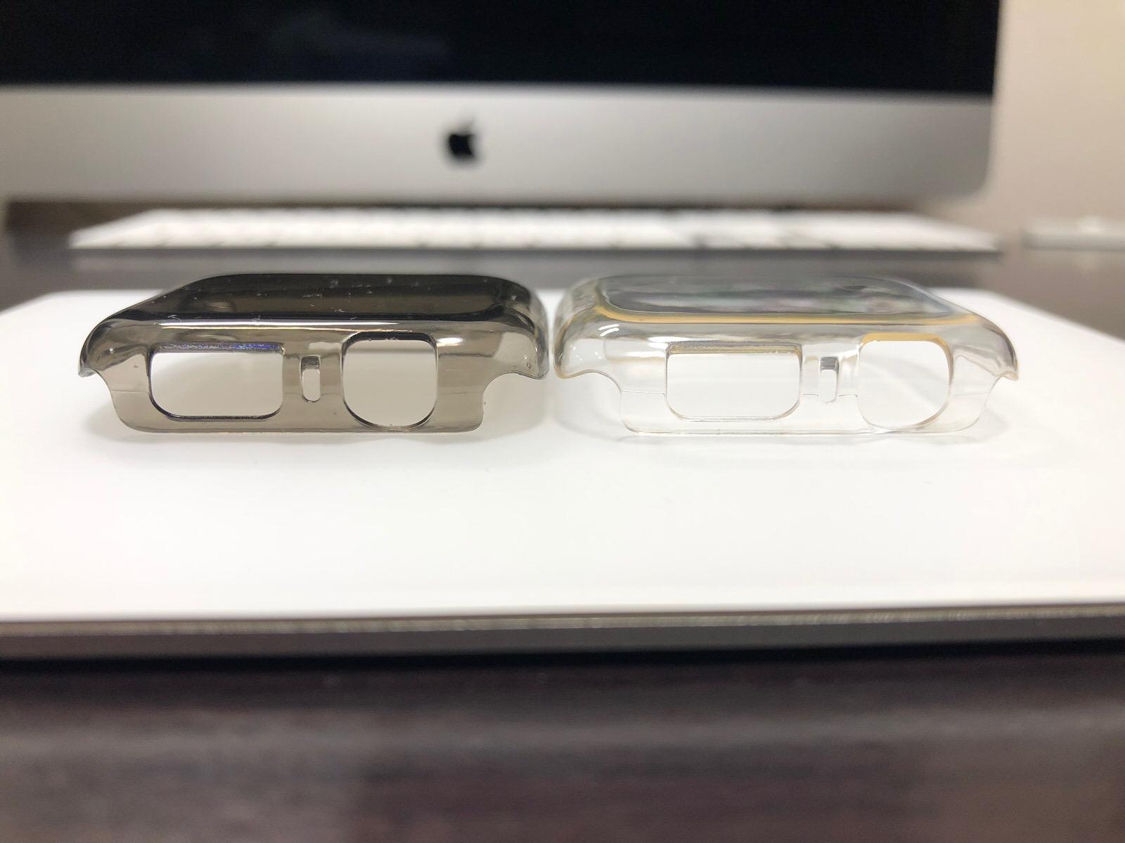 casualcatch Apple watch4 ケース 保護ケース カバー PCケース 傷を防止 防塵 耐衝撃性 44mm-4