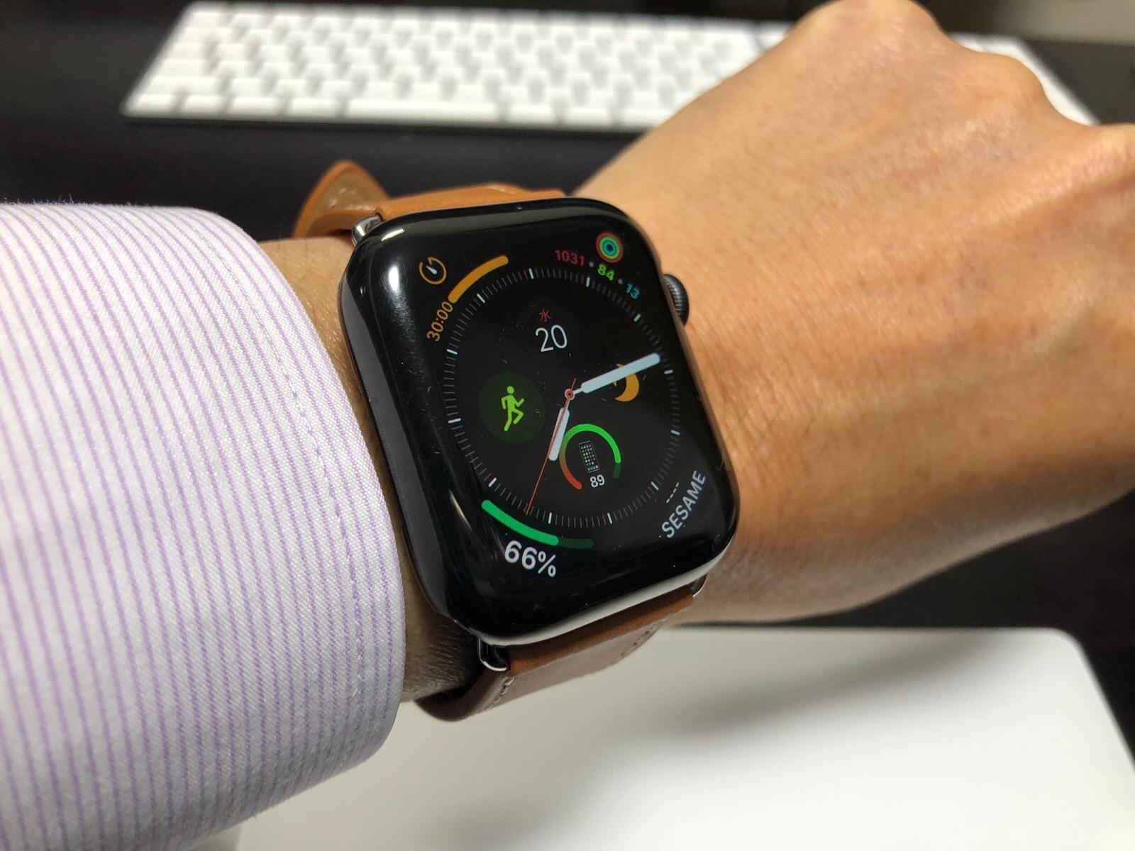 casualcatch Apple watch4 ケース 保護ケース カバー PCケース 傷を防止 防塵 耐衝撃性 44mm-5