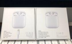 [Apple]AirPods with Wireless Charging Caseが届いたので早速開封の儀を行ってみたよ