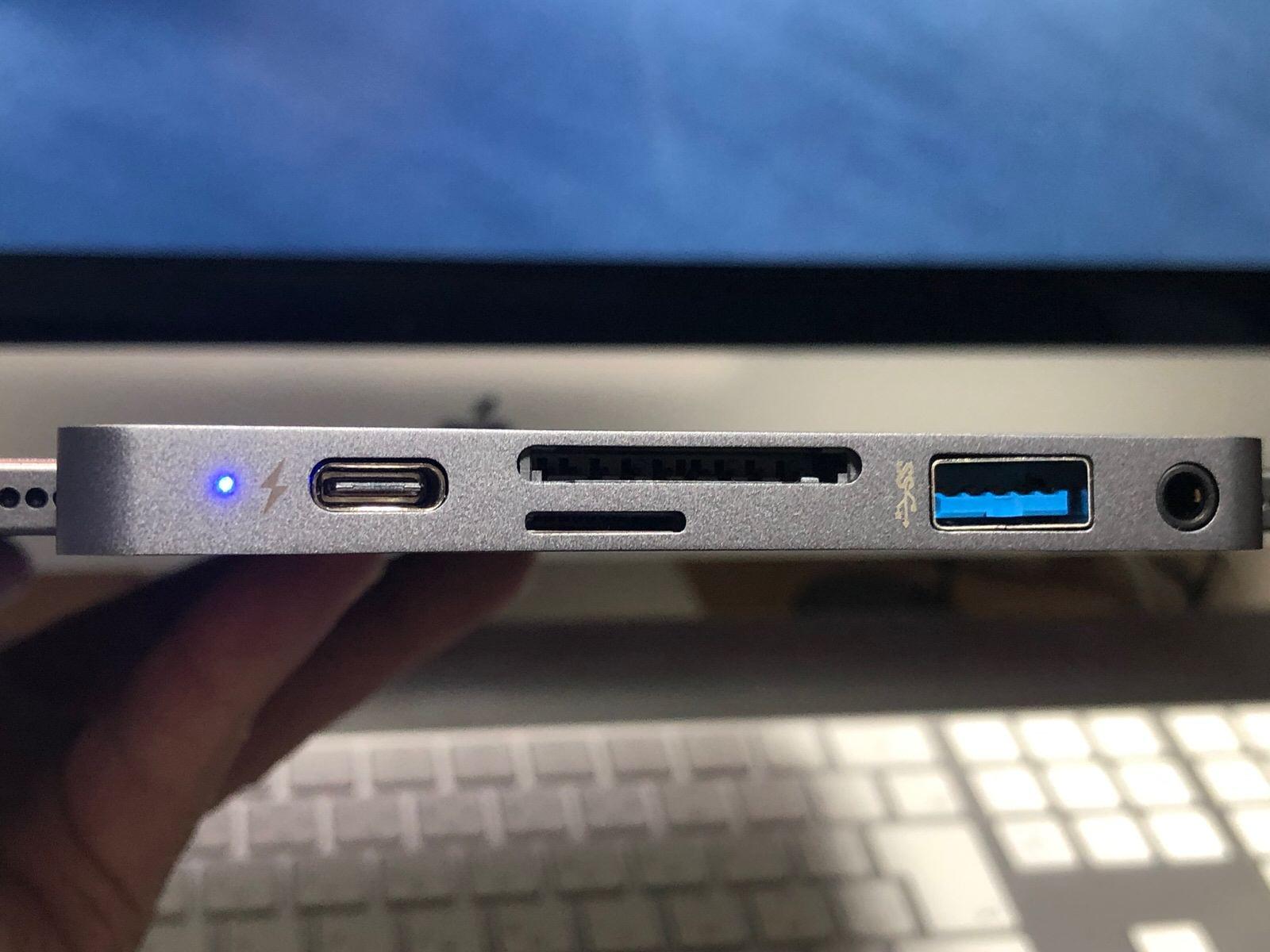 HyperDrive iPad Pro 専用6in1USB-Cハブ−12