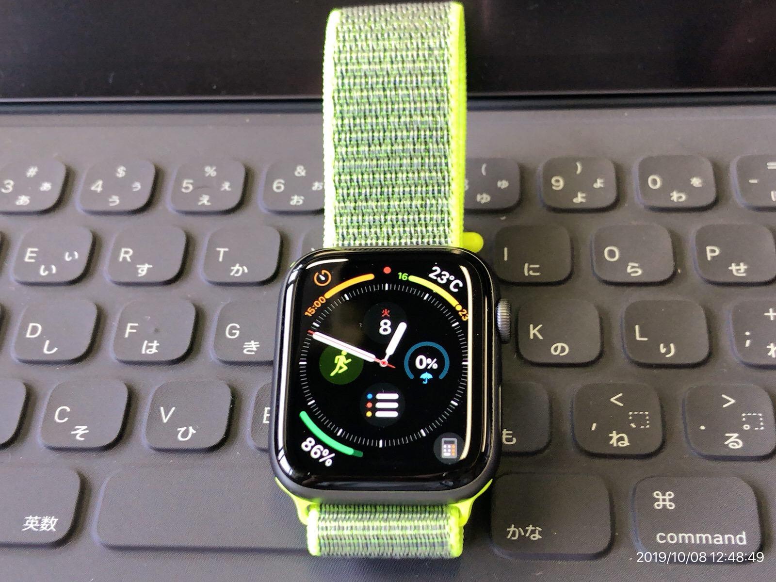 METEQI バンド 対応 Apple Watch、フックファスナー付き新しいナイロンスポーツループバンド−7