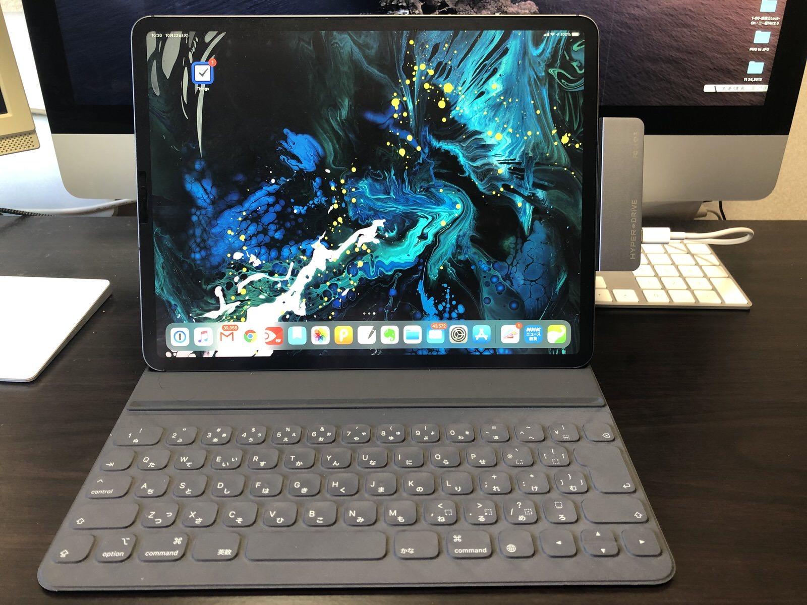 HyperDrive iPad Pro 専用6in1USB-Cハブ−16