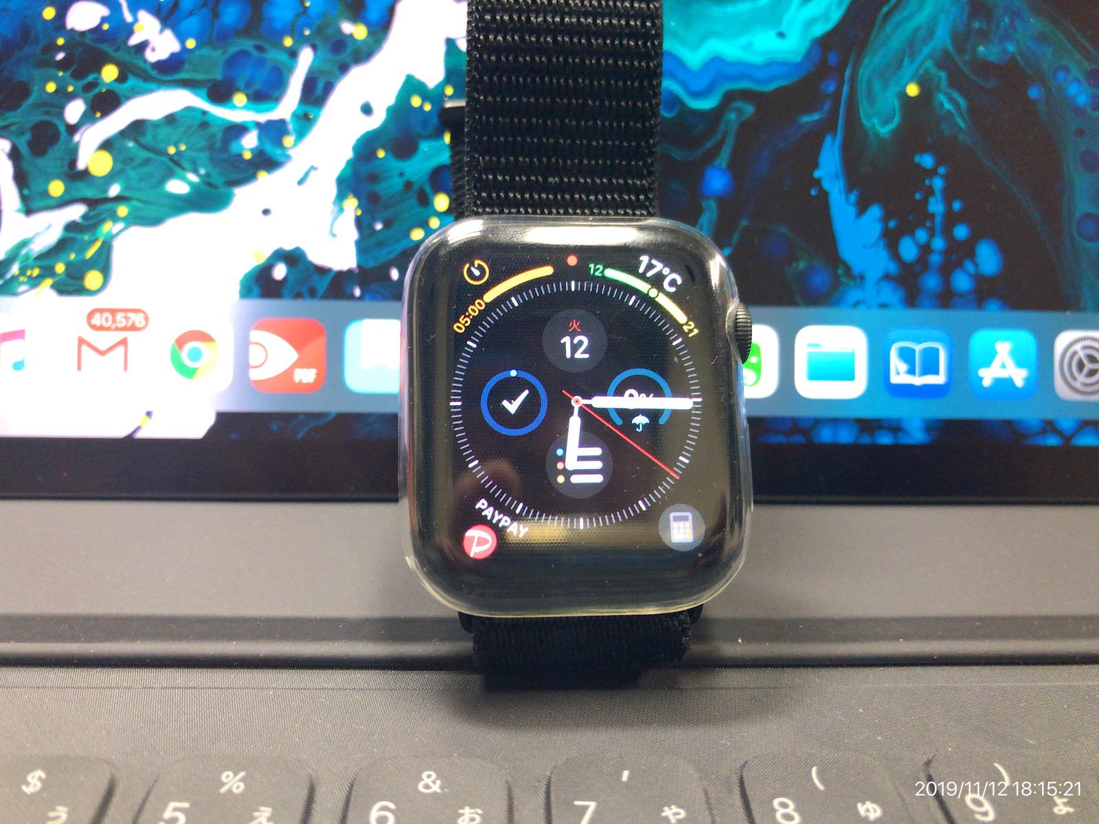 Smilelane Apple Watch 柔らかい薄型TPU保護ケース−8