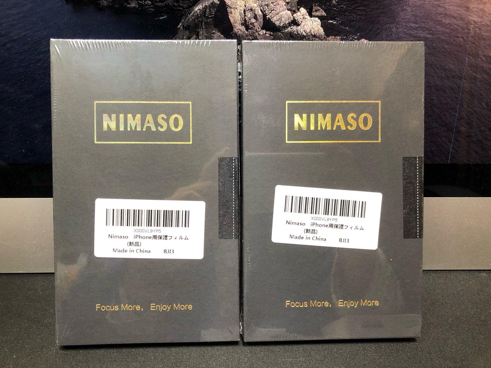 【2枚セット】NIMASO iPhone12 /iPhone 12 Pro/iPhone 11 / XR 用 ガラスフィルム 【ガイド枠付き】−2