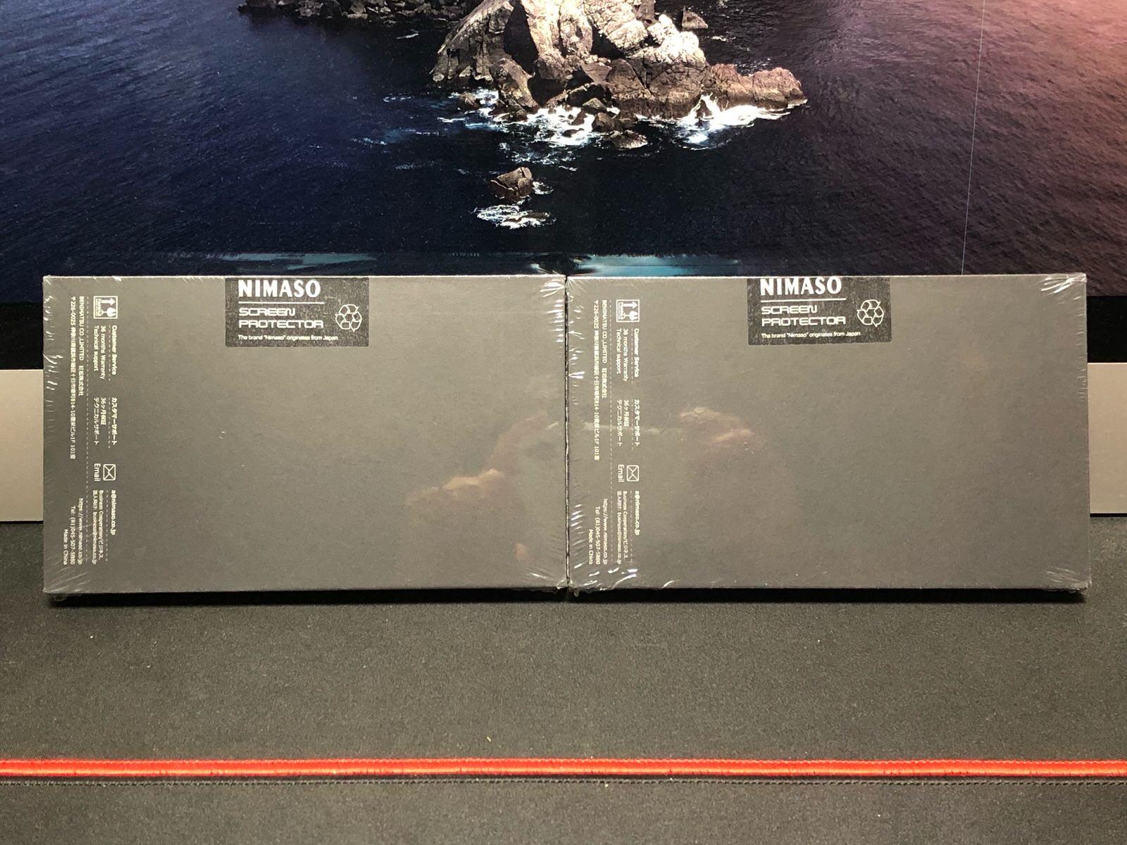 【2枚セット】NIMASO iPhone12 /iPhone 12 Pro/iPhone 11 / XR 用 ガラスフィルム 【ガイド枠付き】−3
