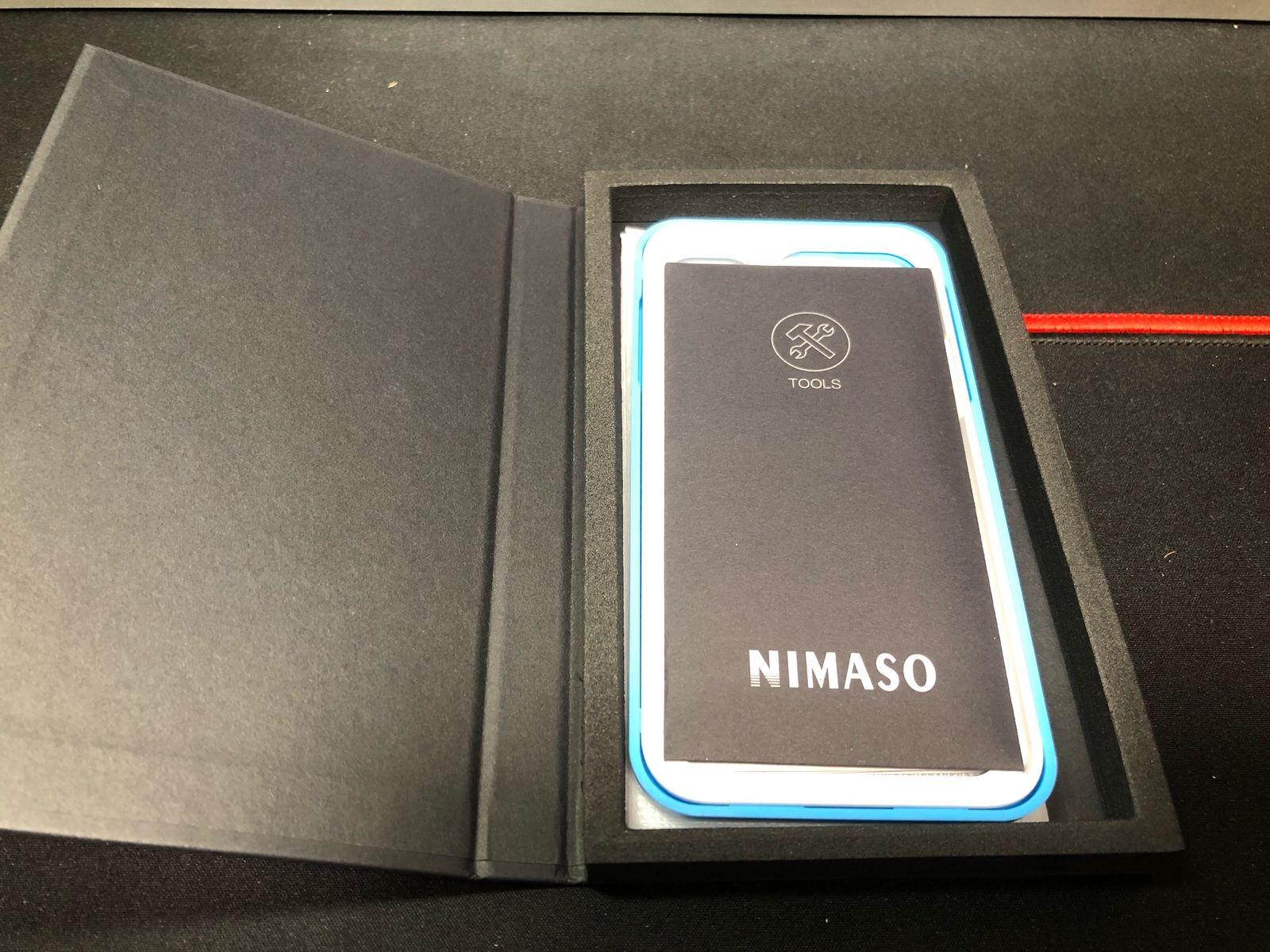 【2枚セット】NIMASO iPhone12 /iPhone 12 Pro/iPhone 11 / XR 用 ガラスフィルム 【ガイド枠付き】−5