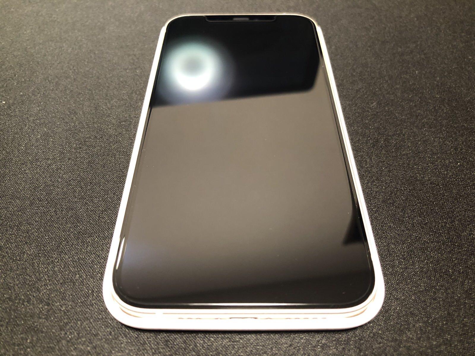 【2枚セット】NIMASO iPhone12 /iPhone 12 Pro/iPhone 11 / XR 用 ガラスフィルム 【ガイド枠付き】−12