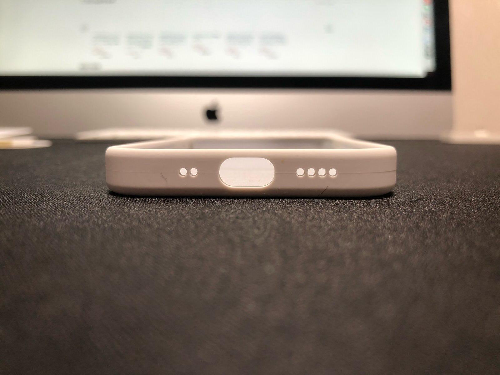 iPhone 12 mini 純正シリコンケース−7