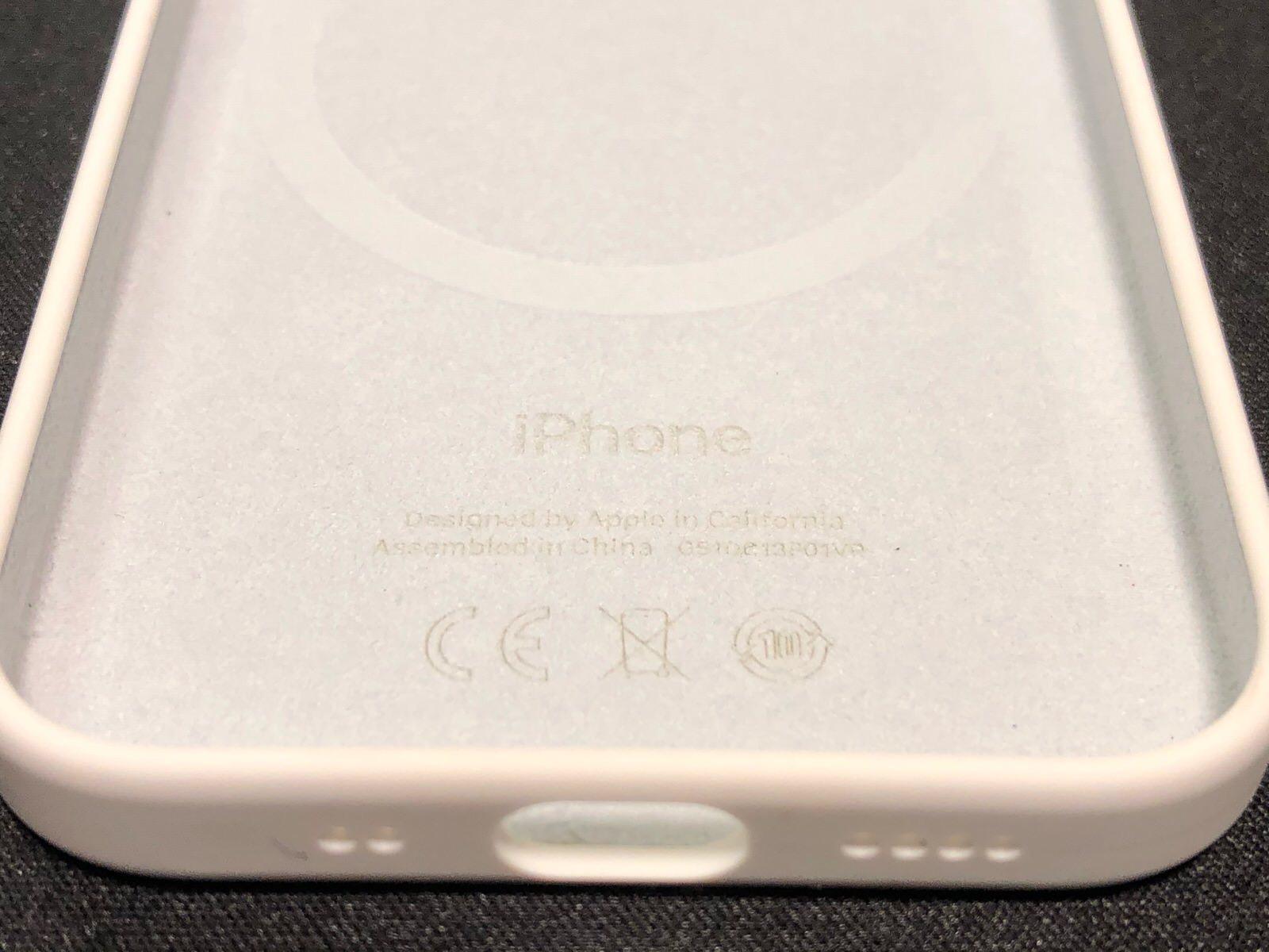 iPhone 12 mini 純正シリコンケース−11