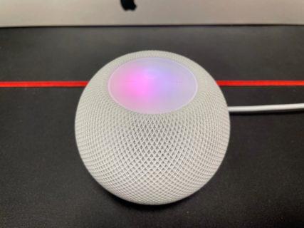[HomePod]思いがけず発売日に HomePod mini が届いて早速開封設定してみたよ