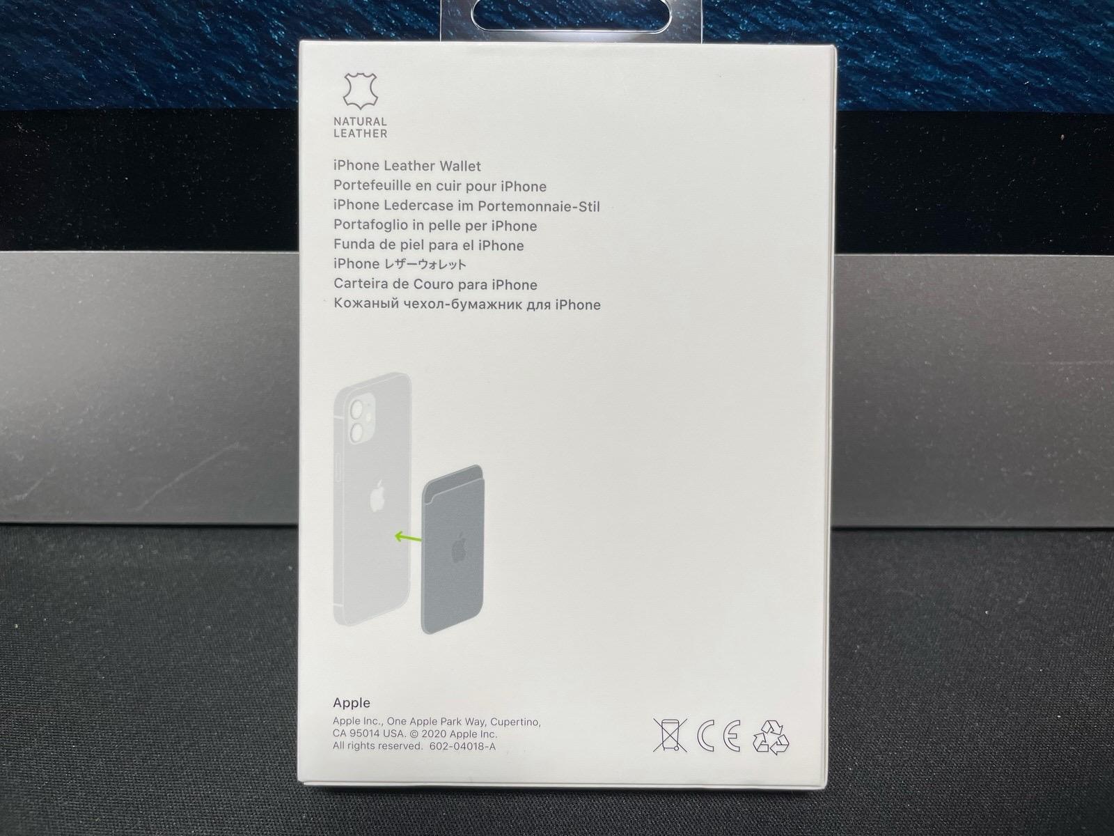 MagSafe対応iPhoneレザーウォレット - ブラック−3