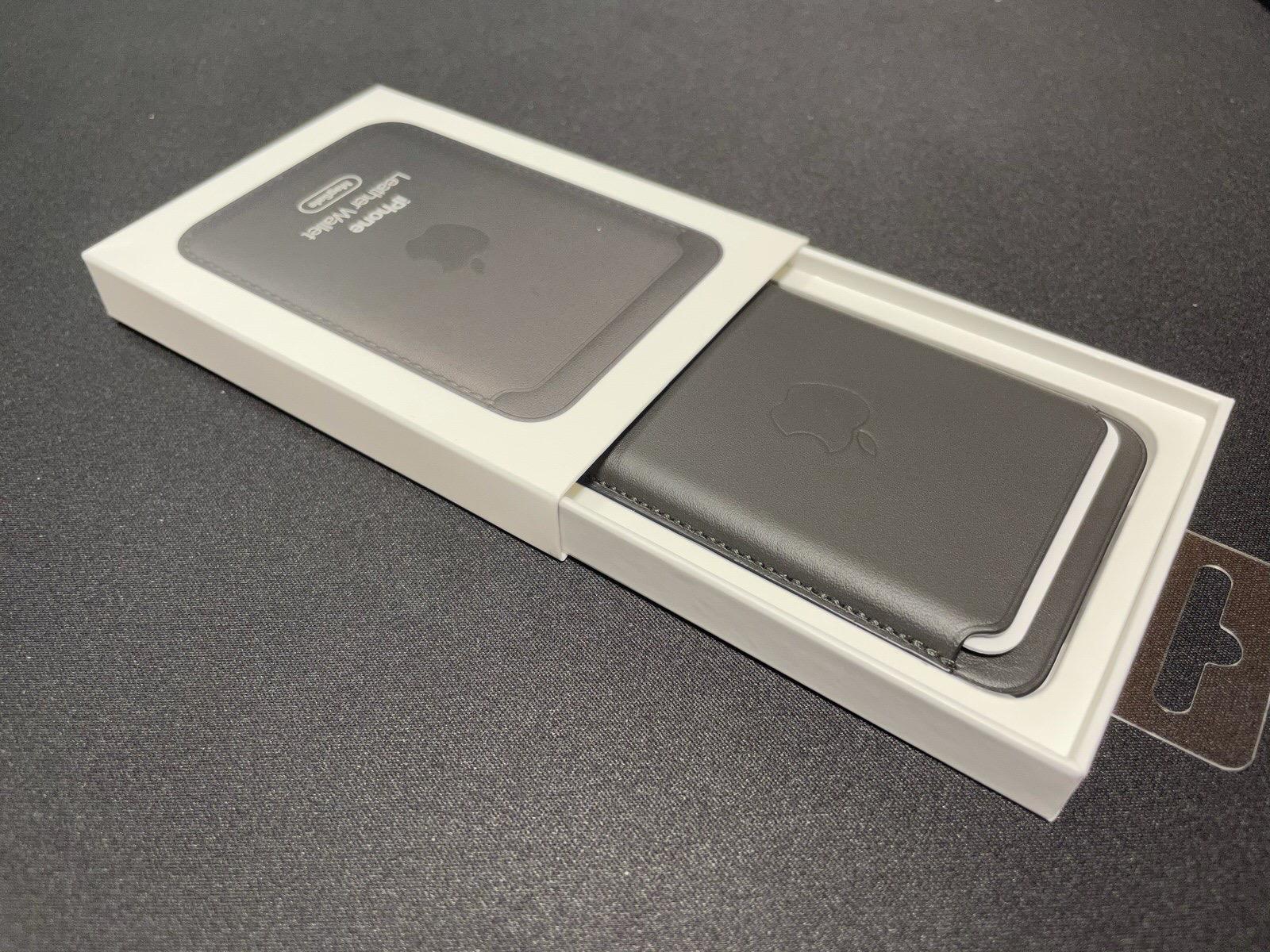 MagSafe対応iPhoneレザーウォレット - ブラック−4