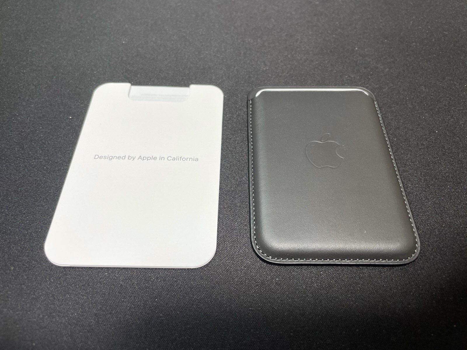 MagSafe対応iPhoneレザーウォレット - ブラック−5