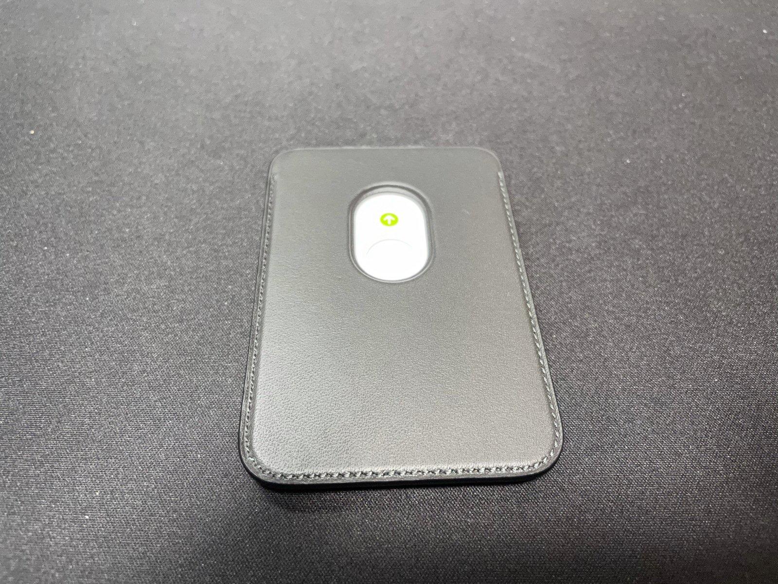 MagSafe対応iPhoneレザーウォレット - ブラック−6