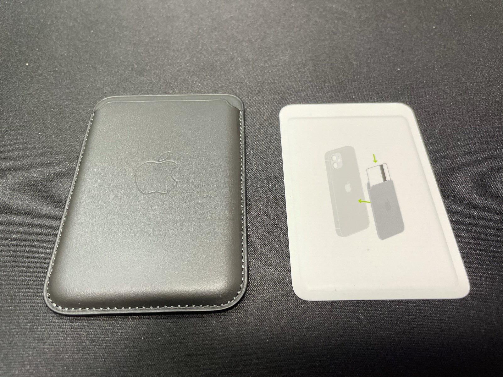 MagSafe対応iPhoneレザーウォレット - ブラック−7
