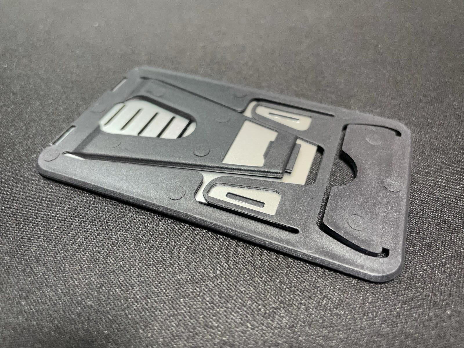 卓上折りたたみ式カード型スマホスタンド−5
