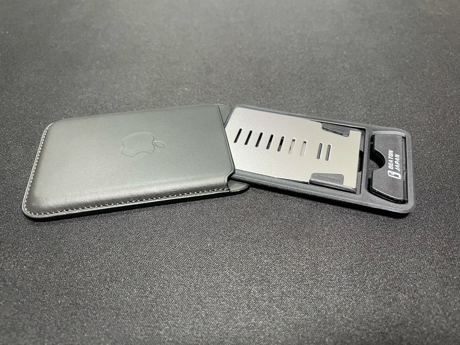 卓上折りたたみ式カード型スマホスタンド−7