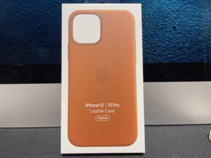 [iPhone] iPhone 12 mini 用に購入したApple純正レザーケースが iPhone 12/12Pro用だったためメルカリ出品/削除したりAppleへの返品手続でバタバタした件